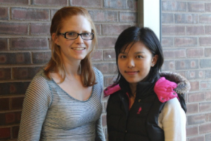 Pingcheng Chu and Allison Faig r