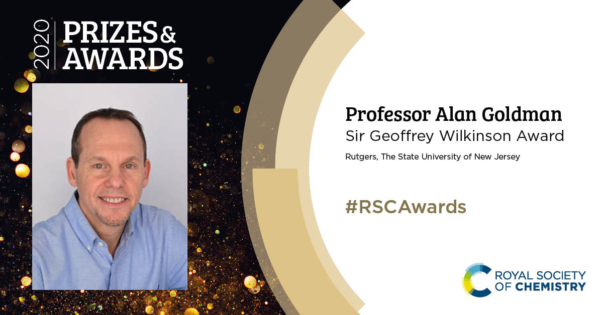 Alan Goldman - RSC Award